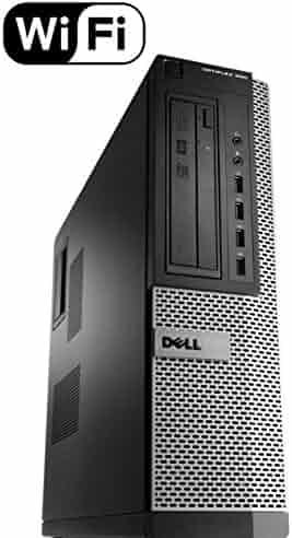 Dell Optiplex 990 SFF Flagship Premium Business Desktop Computer (Intel Quad-Core i5-2400 up to 3.4GHz, 16GB RAM, 2TB HDD, DVD, WiFi, VGA, DisplayPort, Windows 10 Professional) (Renewed)