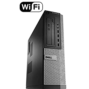 Dell Optiplex 990 SFF Flagship Premium Business Desktop Computer (Intel Quad-Core i5-2400 up to 3.4GHz, 8GB RAM, 2TB HDD, DVD, WiFi, VGA, DisplayPort, Windows 10 Professional) (Certified Refurbished)