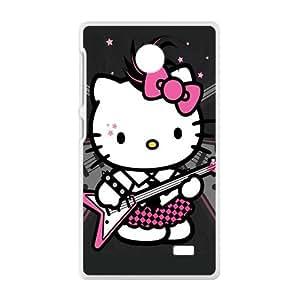 Warm-Dog Hello kitty Phone Case for Nokia Lumia X case