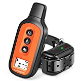 Cuteepets Dog Training Collar, Waterproof and Rechargeable Shock Collar for Dogs w/3 Training Modes, Up to 1600Ft Remote Range, Adjustable Collar Strap for Small Medium Large Dog, All Breeds