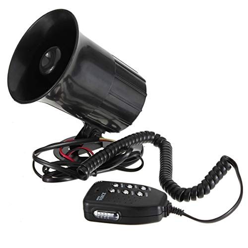 Transport-Accessories - 30W 12V New Car Motorcycle Megaphone Siren loud Air Horn Speaker With MIC