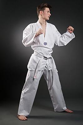 Orkansports - Traje de taekwondo WTF con impresión, unisex, 120 ...