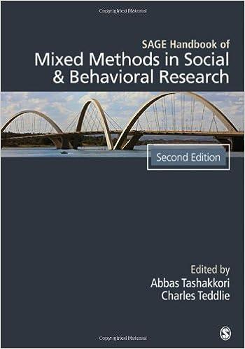 SAGE Handbook Of Mixed Methods In Social Behavioral Research Amazoncouk Abbas M Tashakkori Charles B Teddlie 9781412972666 Books