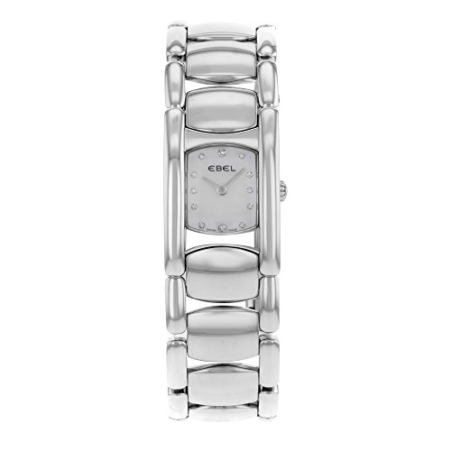 Ebel Beluga Quartz Female Watch E9057A21 (Certified Pre-Owned) Beluga Ladies Wrist Watch