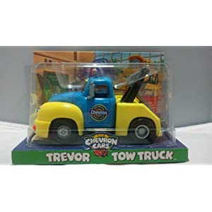 Chevron Cars Trevor Tow Truck with Working Tow Bar