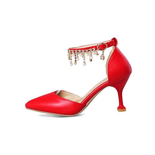 Balamasa Red Con Sandali Zeppa Donna qr6BCcrWT