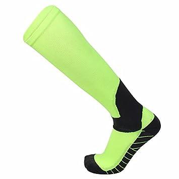 Liuxc Calcetines Calcetines Deportivos para Hombres Calcetines para Correr para Hombres Cuatro Temporadas de Deportes para Hombres sudorosos Verde(10 ...