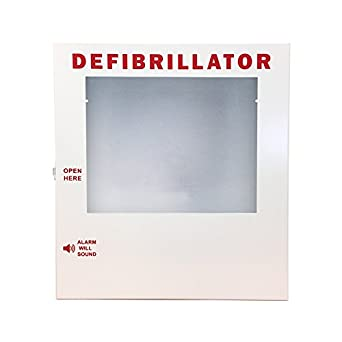 AED Cabinet, Wall Mounted Storage Cabinet Fits Philips