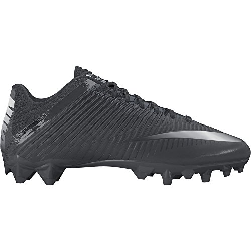 Nike Mens Vapor Speed 2 TD Football Cleat (11.5 D(M) US, Black/Anthracite/Metallic Silver)