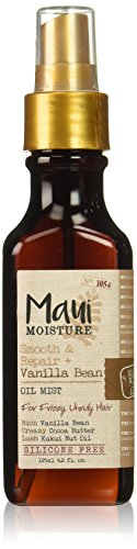 Maui Moisture Smooth & Repair + Vanilla Bean Oil Mist, 4.2 O