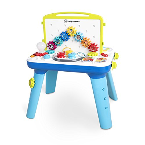 (Baby Einstein Curiosity Table Activity Station Table Toddler Toy with Lights and Melodies, Ages 12 months and up)