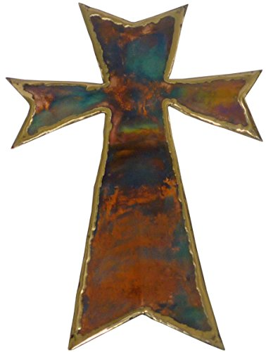 """15"""" Large Copper Wall Cross & Christmas Gift Cross 