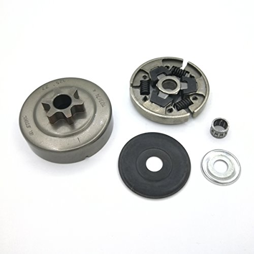 e2ba11e57e9c4 6T Clutch Drum Sprocket Washer Bearing Kit For STIHL MS250 MS230 MS210  MS180 MS170 017 018 021 023 025 Chainsaw Parts