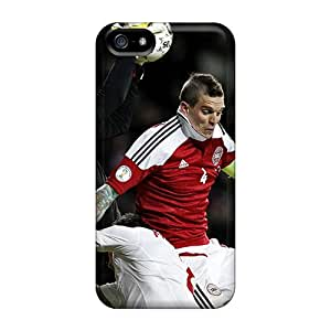 For Iphone 5/5s Premium Tpu Case Cover Liverpool Daniel Agger Protective Case