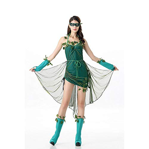 LVLUOYE Role Playing Forest Elf Uniform, Halloween Party Cos Anime Costume, Costume ()