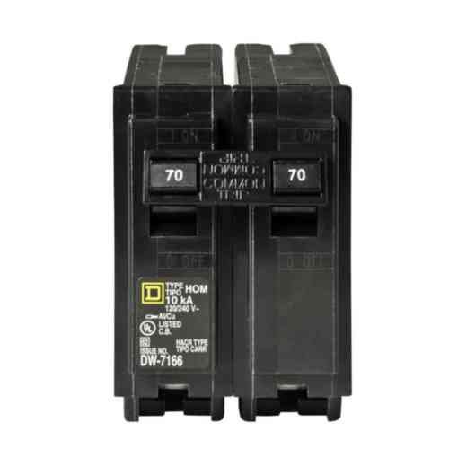 (Your One Source HOM270CP 70a 2p Plug-On Circuit Breaker)