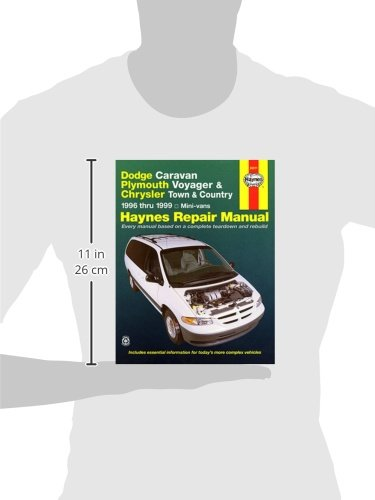 Dodge caravan plymouth voyager chrysler town country 1996 dodge caravan plymouth voyager chrysler town country 1996 thru 1999 mini vans haynes repair manual haynes 9781563923586 amazon books fandeluxe Image collections