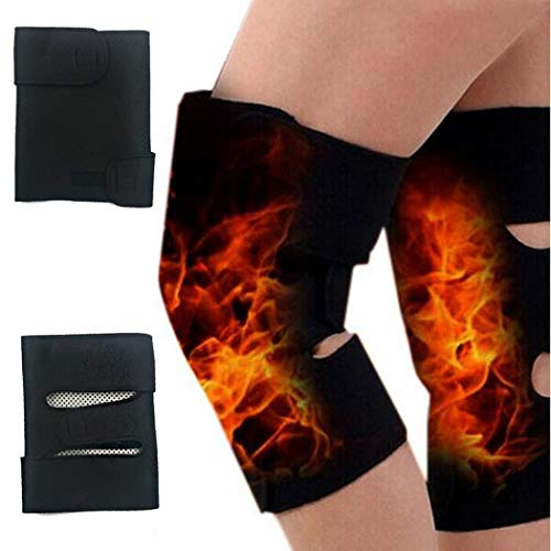 Caiuet Knee Braces Sports Pair of Knee Massager Knee Bone Care Self-Heating Heating Knee Support Brace for Arthritis Pain and Support