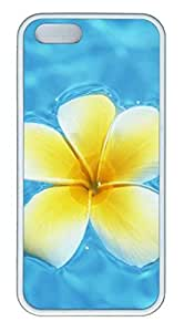 Hawaiian Yellow Flowers - iPhone 5S Case Funny Lovely Best Cool Customize White Cover