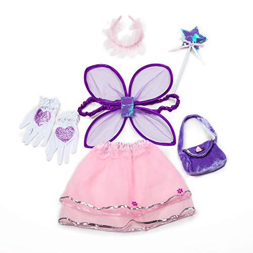 1e1bfca8e Sinuo Girl Dress Up Set Princess, Fairy and Mermaid Role Play Costumes  Christmas Party Dress