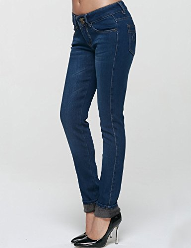 provide large selection of unique style usa cheap sale Camii Mia Women's Slim Fit Fleece Lined Jeans (W29 x L30 ...