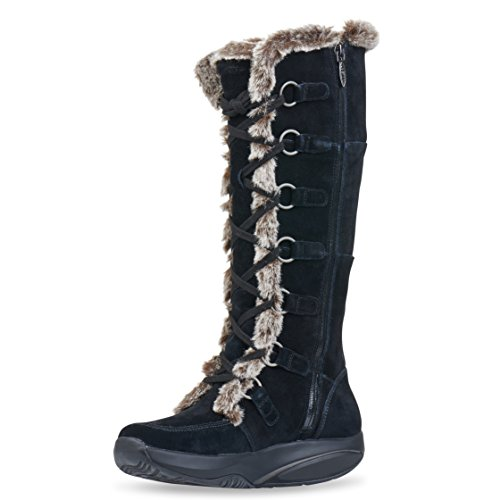 MBT Women's Koko High Boot,Black,38 EU/7-7.5 M US