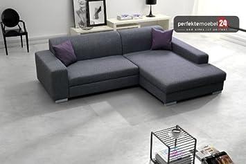 Como Sofa Ecke Couch Mit Schlaffunktion Eckcouch Polstergarnitur