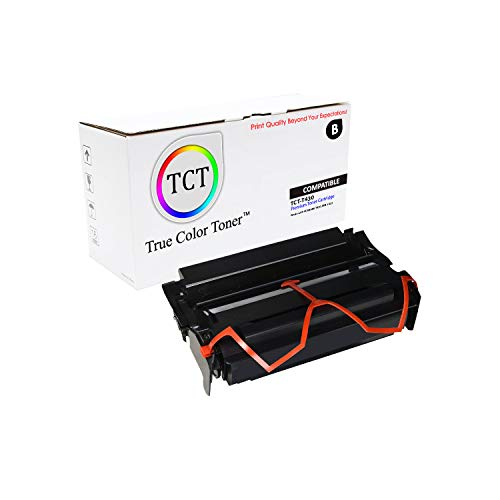 (TCT Premium Compatible Toner Cartridge Replacement for Lexmark 12A8325 Black High Yield Works with Lexmark T430, IBM 1422 Printers (12,000 Pages) )