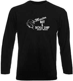 T-Shirt Manica Lunga Uomo Nera TRK0097 MASTERBAIT
