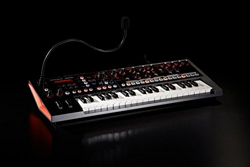Roland JD-XI 37-Key Interactive Analog/Digital Crossover Synthesizer, Black