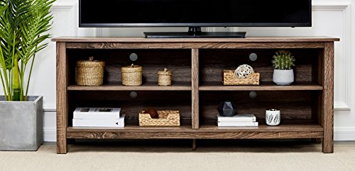 Rockpoint Plymouth  58-Inch Wood TV Stand