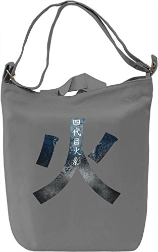 Hokage Sign Borsa Giornaliera Canvas Canvas Day Bag| 100% Premium Cotton Canvas| DTG Printing|