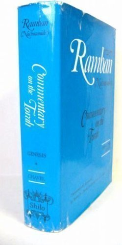 Ramban (Nachmanides):Commentary on The Torah: (Bamidbar) Numbers