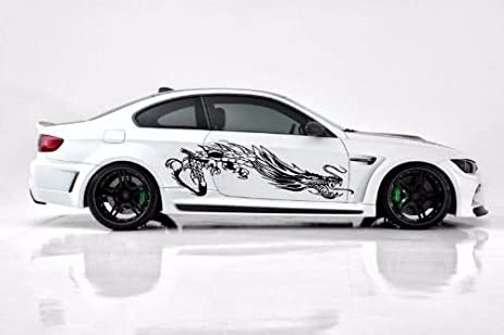 Dragon Car Vinyl Side Graphics Car Sticker Decal Both