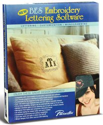 Brother BES Embroidery Lettering Software (Monogram Software Embroidery)