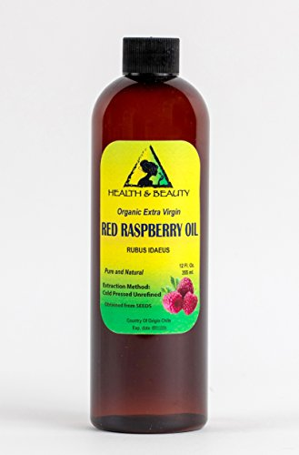 Red Raspberry Seed Oil Organic Unrefined Extra Virgin Col...