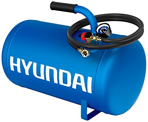 Hyundai HHT5GAT Air Inflation Tank with Tire Hose, 5-Gallon (5 Gallon Portable Air Compressor compare prices)
