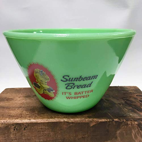 Jade Glass SUNBEAM Multi Use Decorative Bowl Vintage Style Glass