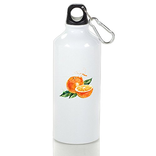 SIHA Dos LOVA A5b486caefa6a37607484ff04c3e9c8b Aluminum Sport Water Bottle, Great For Outdoor And Sport Activities. Metal Hook On The Top 400ml