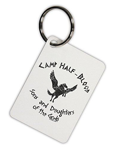 TooLoud Camp Half-Blood Sons and Daughters Aluminum Keyring (Greek Gods Outfits)