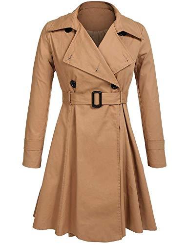 Manteau Automne Trench Classique Longues Femme El Mode Printemps gxnXA6Pqw