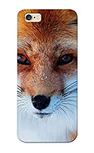 GECrJo-1600-IQrjC Yellowleaf Fox In The Snow Durable Iphone 6 Plus Tpu Flexible Soft Case With Design