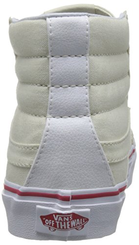 Furgoni Unisex Donne Sottili Sk8-hi Pattinare Pattino Osso / True White