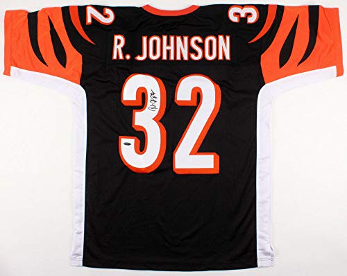 - Rudi Johnson Autographed Signed Memorabilia Bengals Jersey Tristar Hologram 2004 Pro Bowl Running Back - Certified Authentic