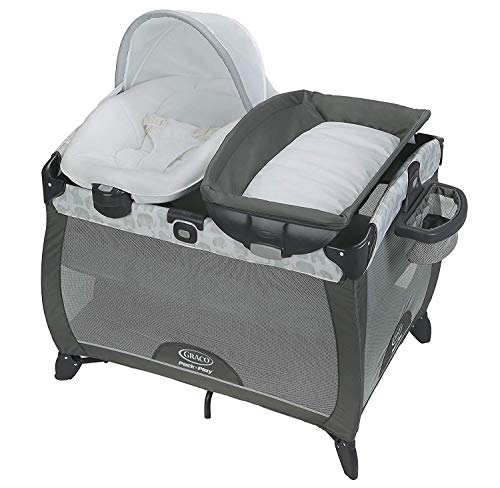 Why Choose Graco Pack 'n Play Playard | Includes Portable Napper, Full-Size Infant Bassinet, and Dia...
