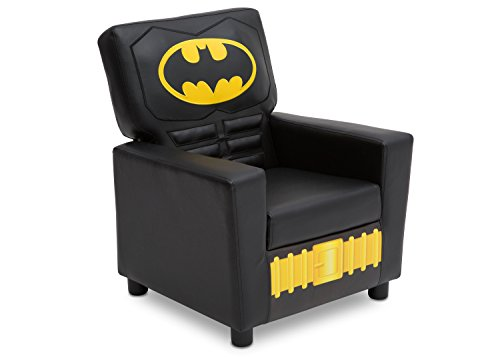 (Delta Children High Back Upholstered Chair, DC Comics Batman)