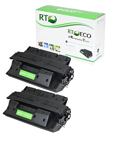 Renewable Toner 27X C4127X 2-Pack Compatible Toner Cartridge for HP LaserJet 4000 4050 (4050n Laser)