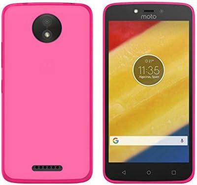 TBOC® Funda de Gel TPU Rosa para Motorola Moto C Plus (5.0 ...