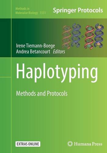 Haplotyping: Methods and Protocols (Methods in Molecular Biology)