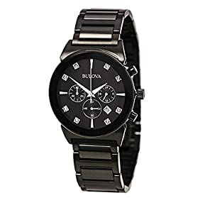Bulova Diamond - 98D123 Black Chronograph